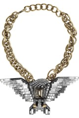 Obsess for Less: Lanvin Eagle Necklace