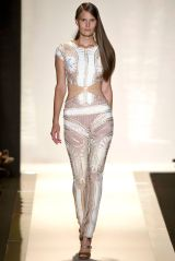NYFW Collections of the Day: Christian Siriano, Alexander Wang, Hervé Léger by MaxAzria