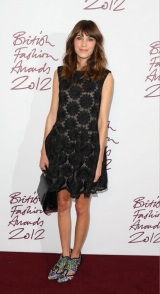 Inspiring Moment: Alexa Chung at the 2012 British Fashion Awards