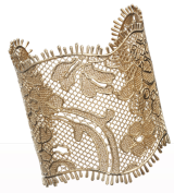 Obsess for Less: Givenchy Pale Gold Lace Cuff