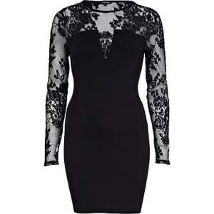 Black Lace Insert