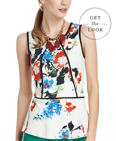 Anthropologie Peplum