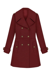 NCSOX0192.jpDouble Breasted Wine Red Coatg
