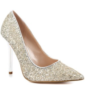 Neodany Silver Texture Guess Shoes