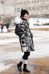 Street Style Trend To Try (NYFW F/W 2013 Edition): Monochrome Madness