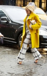 Street Style Trend To Try (NYFW F/W 2013 Edition): Yellow Outerwear