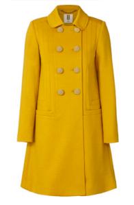 Orla Kiely Wool Coat