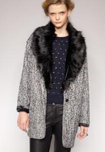 Pixie Market Tweed Coat